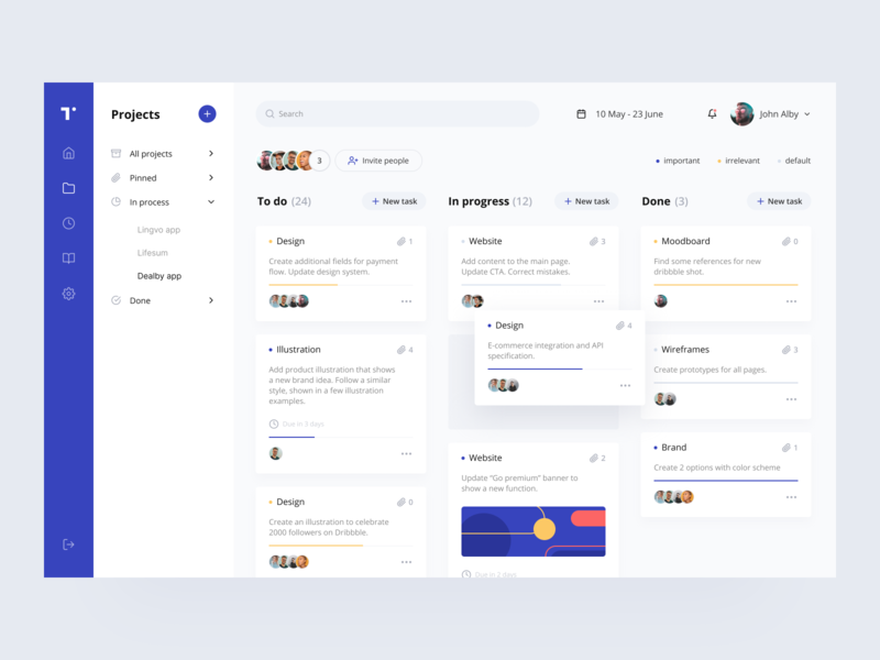 Web Application Designs Themes Templates And Downloadable Graphic Elements On Dribbble