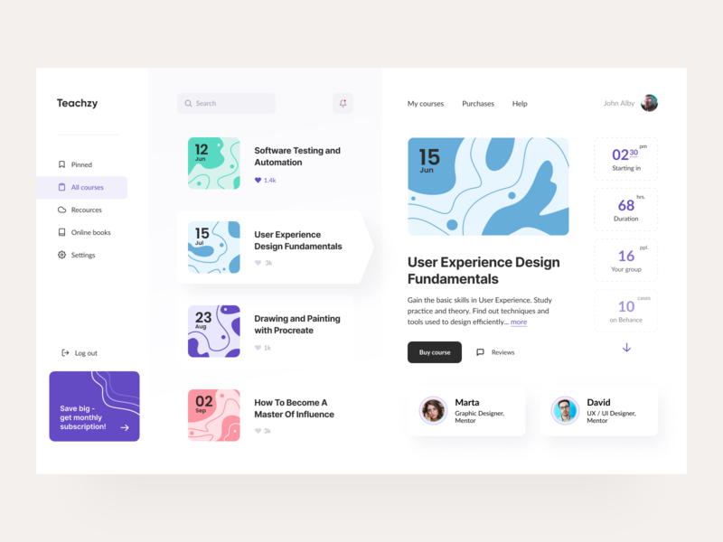 Education App Designs Themes Templates And Downloadable Graphic Elements On Dribbble