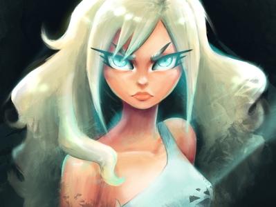 """""""Graphic Short"""" Character Portrait"""