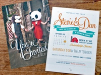 Stevie & Dan Wedding Invites FULL