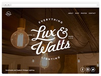 Lux and Watts simple page