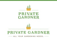 Your Private Gardner logos