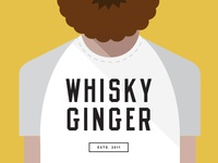 whisky ginger shirt bold