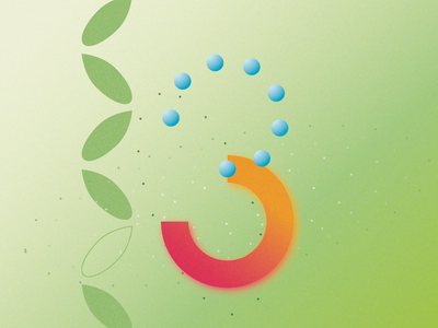 3 for 36 days of type minimal type gradients gradient 36daysoftype graphicdesign typography illustration design adobe illustrator