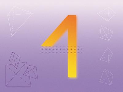 4 for 36 days of type gradients 36daysoftype graphicdesign type typography design vector minimal adobe illustrator illustration