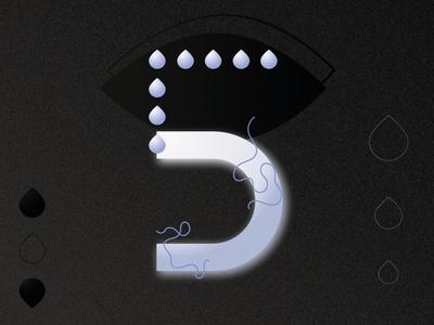 5 for 36 days of type gradient graphicdesign minimal design 36daysoftype type typography gradients illustration adobe illustrator