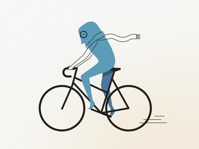 Ride or die adobe photoshop adobe illustrator bycicle flat gradients vector artwork ride minimal bike ride bike art illustration