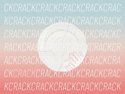 uncracked illustration gradients typography illustrator design minimal adobe illustrator vector