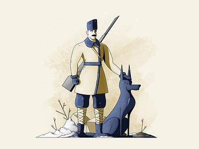 Hammer & Sickle design illustration