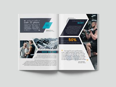Club Systems Brochure Design design brochure design