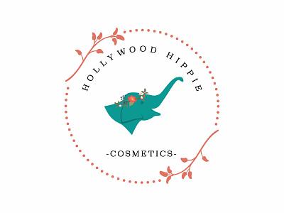 Hollywood Hippie Cosmetics Logo Design design logo design logo
