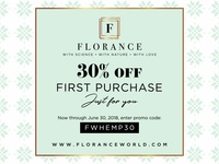 Florance Coupon Design