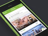Groupon iPhone Redesign