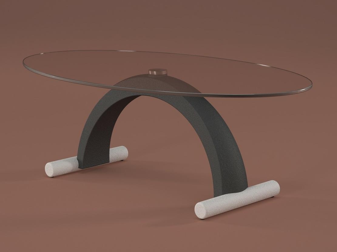 Tavolino da salotto Icaro marmo agglomerato arredamento pietra arredo mobili design moderno salotto tavolino