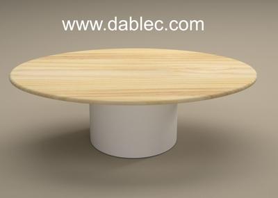 CAMUS 1286 29  PL0 TU  tavolo in legno ovale