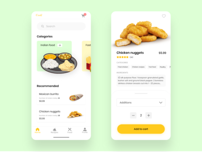 Food Delivery / Cooking App