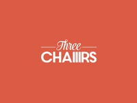 Three Chairs - Logotype Concept