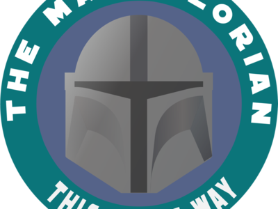 Mandolorian Badge