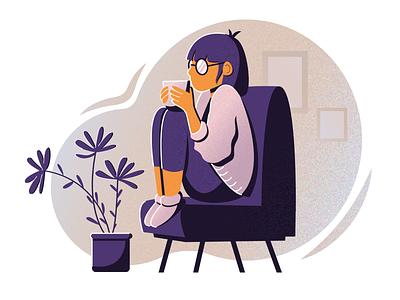 Tea art adobe ilustrator дизайн вектор иллюстрация