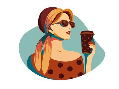 Sunny morning дизайн вектор изобразительное искусство adobe illustrator иллюстрация