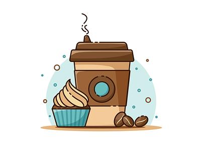Coffee vector icon icons illustration изобразительное искусство дизайн adobe ilustrator иллюстрация