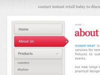 Instant Retail — Menu