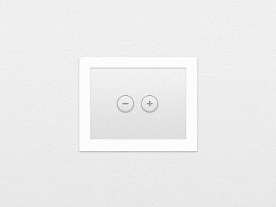 PSD - Plus/Minus Buttons - Freebie