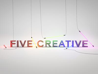 FIVE Creative wallpaper