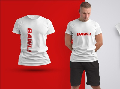 Bawl! Logo on shirt