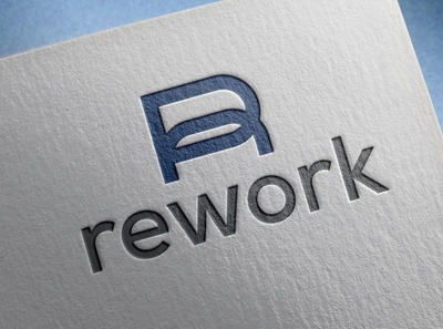 Rework renovation firm logo