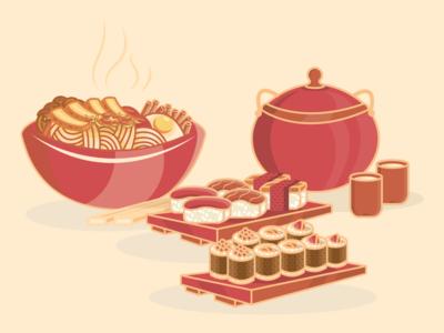 Japanese 日本語 Cuisine