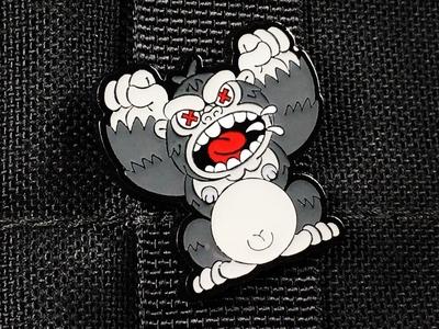 MAD Ape Enamel Pin