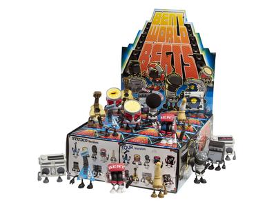 Kidrobot Bent World Beats
