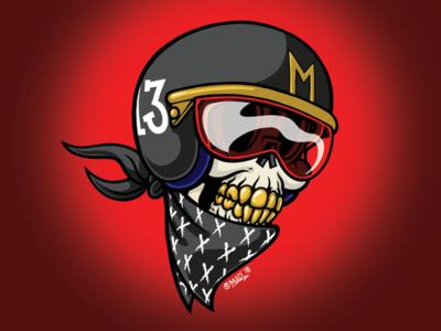 MAD Dark Skull Racer