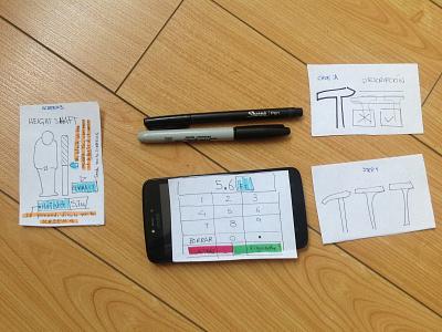 Prototype UX sharpie design prototyping designer productdesigner sketch ui design uxdesign uidesign ui ux prototype
