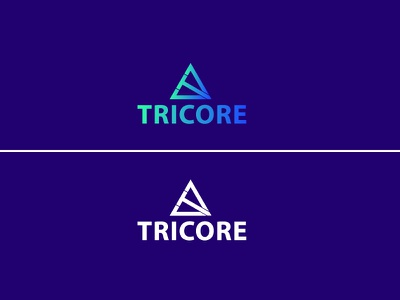 Tricore- Build company logo construction build app website web character art graphic design identity illustrator brand clean vector minimal logo illustration icon flat design branding