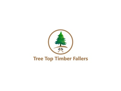 Tree Top Timber Fallers character web website graphic design identity tree logo outstanding business professional vector illustrator modern design logo clean branding brand minimal illustration flat
