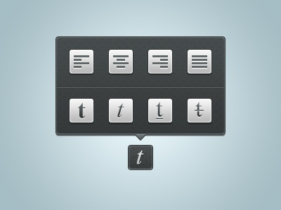 Tooltip Typo tooltip typo typography free psd paragraph icons icon freebie