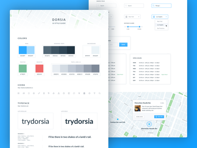 UI Style Guide ui style guide ui guide ui elements ui design typography guidelines ui kit ui