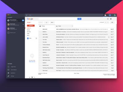 Shift App linux windows mac product google gmail shift interface ui application app redbrick