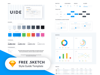 UIDE Kit (Style Guide Template) - FREEBIE 🔥 freebie free elements user interface ui ui kit style guide