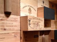 Custom Wine Crate Wall