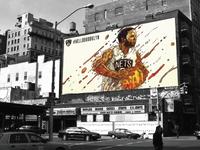 Brooklyn Nets Billboard