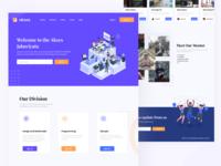 Community Web Design Concept class course community webdesign website app figmadesign figma design mobile app ux ui