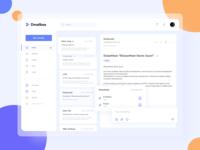 Design Concept for Mail Web Design dolanlabs email mail sketchapp sketch app figma figmadesign design ui ux