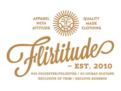 Flirtitude 1 sun wink smile flirt woman clothing undies