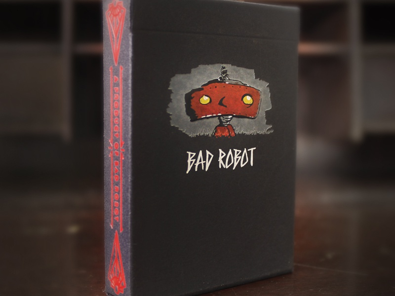 Bad Robot Cards bad robot playing cards deck hell yeah