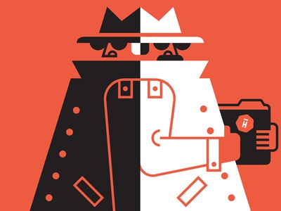 Password Vs Spy password spy hightail folder illustration luke bott