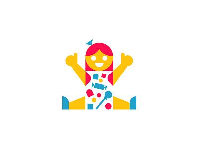 Candy!!! bott luke design logo up thumbs girl candy