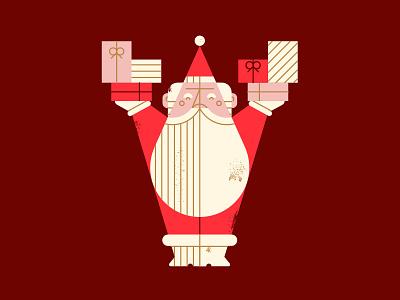Presents!!! bott luke christmas texture beard presents claus santa